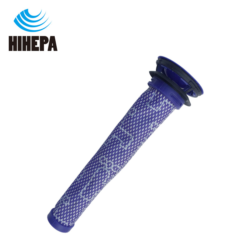 Купить с кэшбэком 2pcs/set Pre & Post-Motor HEPA Filter for Dyson V7 V8 Cordless Vacuum Cleaner accessories of part # DY-96747801 & # DY-965661-01