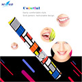Ipx7 impermeable con pilas sonic cepillo de dientes eléctrico de la manera colorida p00 dupont cerdas del cepillo de dientes para adultos al por mayor