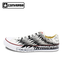 Wings Original Design Converse All Star Hand Painted Shoes Man Woman Sneakers Low Top Women Men