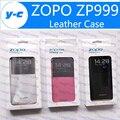 Zopo ZP999 Случае Новый Оригинальный Флип Кожаный Чехол Защитный назад Shell Для ZOPO ZP998/ZOPO 3X Смартфон В Наличии Бесплатная корабль