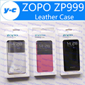 Zopo zp999 case new couro flip original caso capa protetora voltar shell para zopo zp998/zopo 3x smartphone-in free stock navio