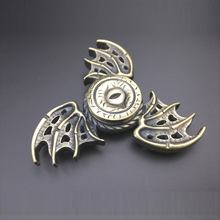 Zinc Alloy Hand Spinner Fashion Wings Shape 2017 The Eye Fidget Spinner Finger EDC Toys For Autism and ADHD Reduce Stress