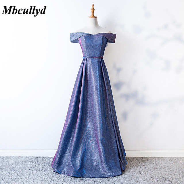 d44bfa202010c Mbcully Bridesmaid Dresses 2019 Sheer Scoop Neck Long Maid Of Honor Dress  Party Wedding Guest For Women Cheap Free Shipping