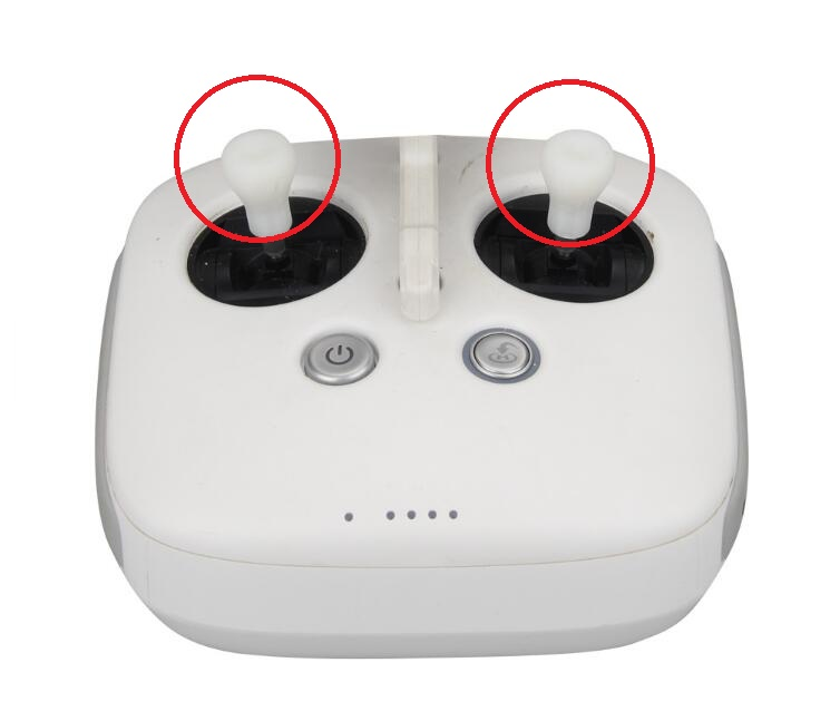 1pair Thumb Rocker Joystick cover spare parts for DJI Phantom 4/3/2/Inspire 1 RC Drone remote controller