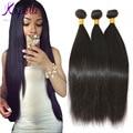 "Brazilian Virgin Hair Straight 3 Pcs/lot Brazilian Hair Weave Bundles 8""-26"" Cheap Soft Human Hair Weave Rosa Hair Products"
