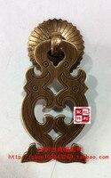 [Bonus] cobre antigo/cobre acessórios de mobiliário clássico de Ming e Qing/Acessórios/Dragão/gaveta cabine