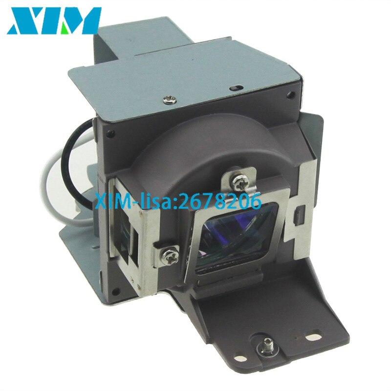 Высокое качество 5J. J5205.001 лампы проектора с корпусом для BENQ MS500 MS500P MS500-V MX501 MX501V MX501-V TX501 180 дней гарантия