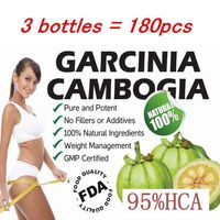 3 PACKS Pure Garcinia Cambogia Extract 95 HCA Slimming Products Loss Weight Diet Product For Women
