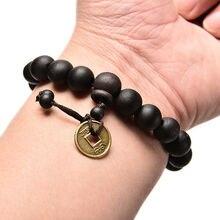 Натуральные буддийские Бусы из сандалового дерева Будда Дерево Молитва шарик мала унисекс для мужчин браслеты ювелирные изделия Bijoux