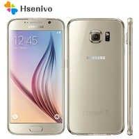 """Sbloccato originale Samsung Galaxy S6 Android Cellulare G920F G920V G920A G920P 3GB 32GB 5.1 """"16.0MP 4G LTE Octa Core Per Smartphone"""