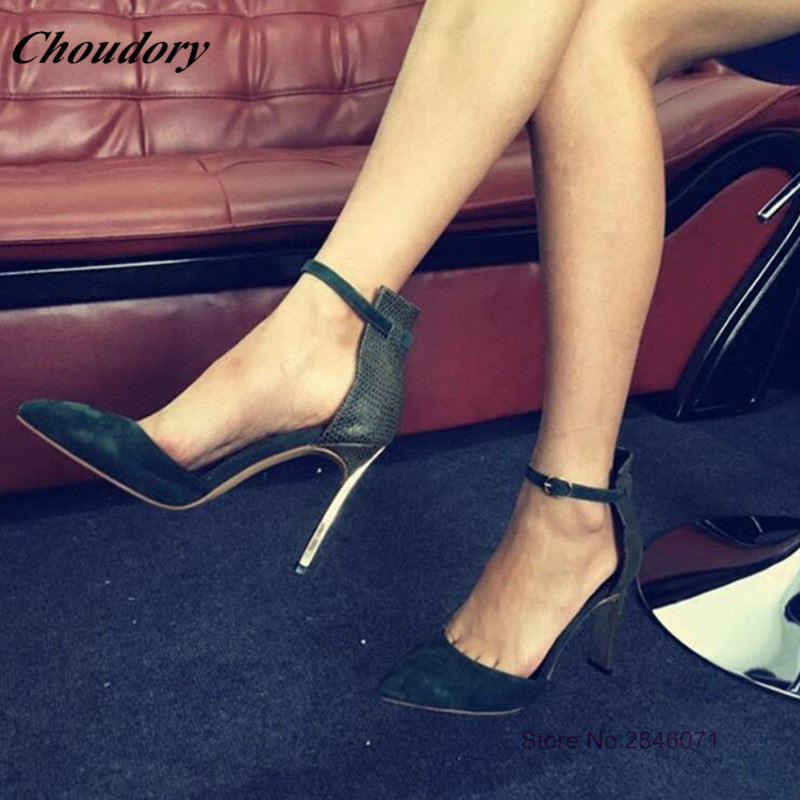 Hot Sale Fashion Sexy Solid Women Pumps Ankle Buckle Strap Thin High Heels Lace-up Women Dress Shoes Party Shoes Woman big size hot sale fashion new style ankle strap pumps for women woman party