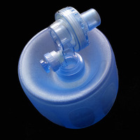 Simple self help respiratory/pvc silica gel simple respirator /cardiopulmonary resuscitation (CPR) airbags cpr training aed