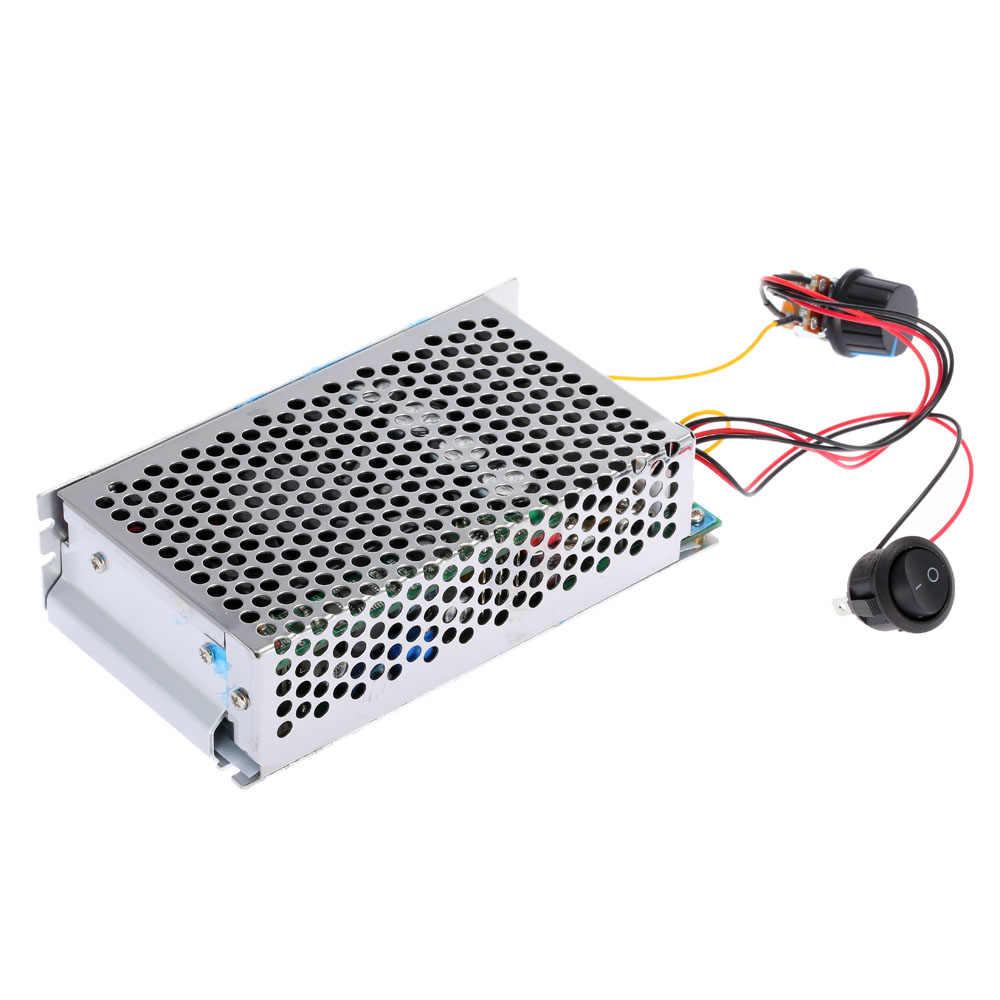 10-30V 100A 3000W réglable régulateur de vitesse de moteur à courant continu programmable régulateur de vitesse à courant continu PWM contrôle moteur électrique réversible