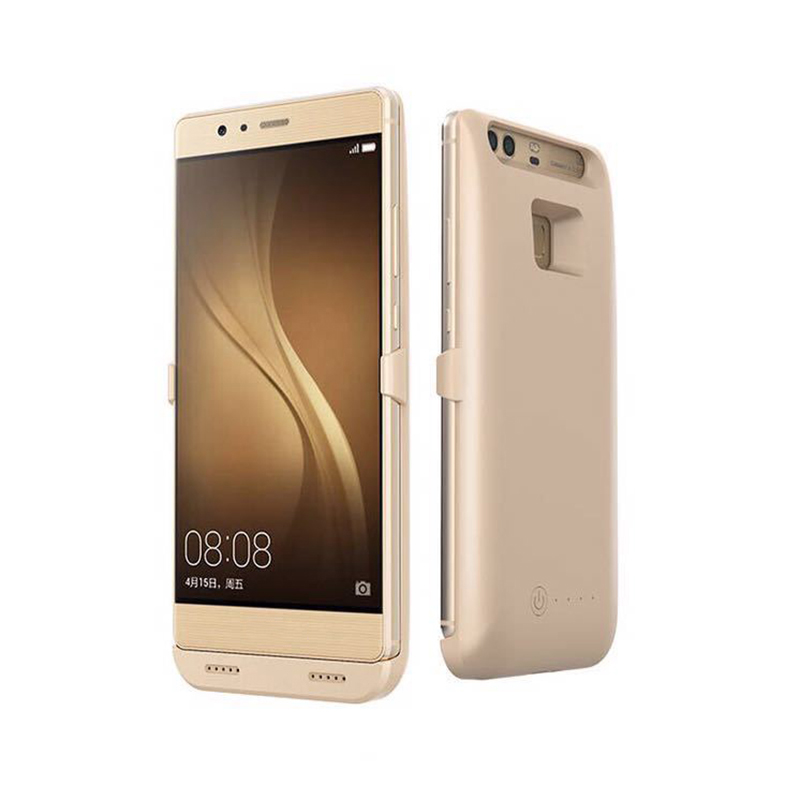 Цена за Внешний телефон Батарея Зарядное устройство чехол для Huawei P9 P9 + Мощность резервного банка Батарея чехол для Huawei Ascend P9 плюс Мощность Bank Дело