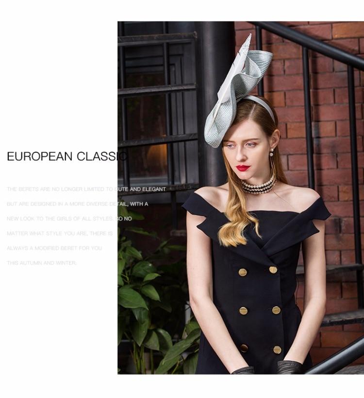 4_elegant wedding hats and fascinators