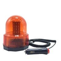 High quality 40 LED DC12V car Vehicle Police LED Strobe rotating flashing Warning light Emergency Beacon lamp Red Yellow Blue