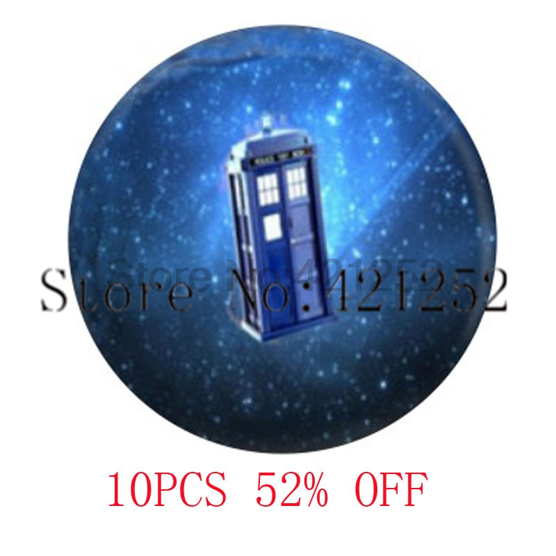 Dr Who Tardis Dr Who Jewelry Box Time Travel Glass Photo Cabochon Necklace keyring bookmark cufflink earring