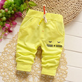 2016 New Spring Children's Boys Pants Cotton Cute Cartoon Cartoon Patter Baby Boy Pants All-Match Kids Pants for Boy 7-24M
