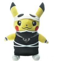 Digimon Macera Peluş Oyuncaklar 30 cm Ninja Pikachu Cep Canavar Bebek Euro-Amerikan Film Peluş Oyuncaklar