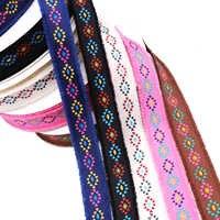 1 Yard 2,5 cm Stickerei Blumen Band Ethnische Wind Band Spitze Hand Stickerei Vorhang Kleidung Spitze Handwerk & Geschenk Verpackung