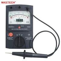MS5202 Digital Analogue Dual Display Pointer Megger Megometro Insulation Resistance Tester Max to 2500V 100000 Mohm