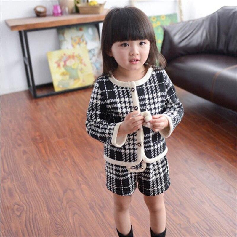 Liligirl crianças meninas temperamento conjunto de roupas