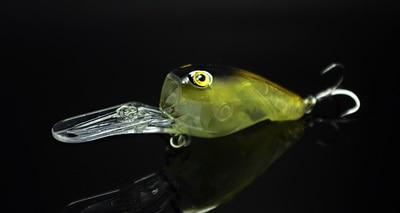 Fishing Long Shot Glow Lure Crank Bait 95mm 11g Deep Dive Plate - Pesca - Fotografia 4