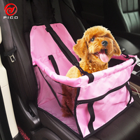 Di alta Qualità Impermeabile car seat cover per animali dog NYLON Back Seat Carrier puppy cani di piccola taglia seggiolini ZL284