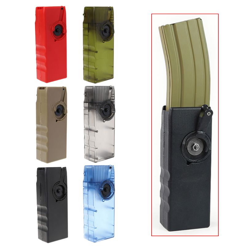 Image 3 - Tactical Handheld Device BB Speed Loader Ball Container Magazine Airsoft Paintball Outdoor Hunting Shooting Tackle-in Paintball Accessories from Sports & Entertainment
