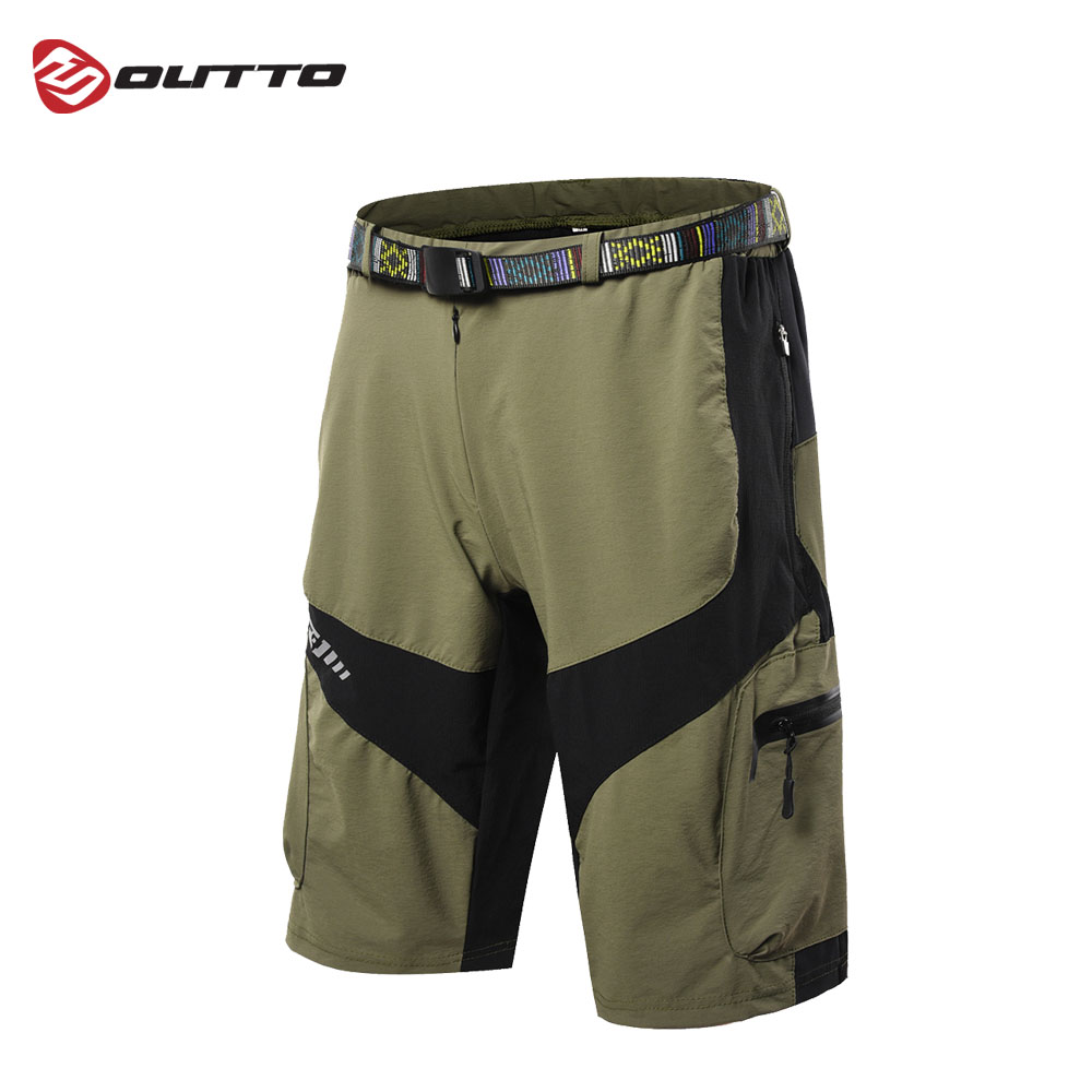 Outto Men s Mountain Bike Bicycle Riding Sports Losse fit Baggy Downhill MTB Cycling Shorts Breathable