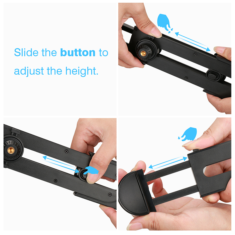 cheapest NEW Mobile Phone Clip Mount Bracket Selfie stick monopod Holder for GoPro iPhone Xiaom Samsung Huawei Tripod Adapter Accessories