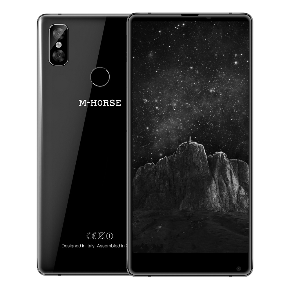 M - HORSE Pure 2 4G Smartphone 5.99 Inch Android 7.0 MTK6750 Octa Core 4GB RAM 64GB ROM Dual Rear Cameras Mobile Phone