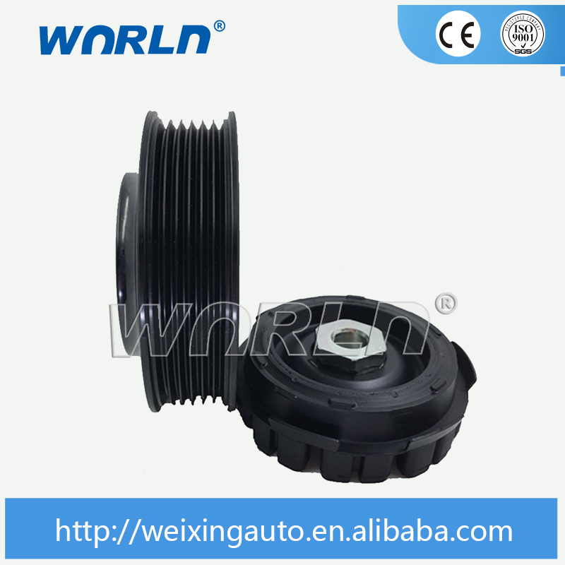 Air Compressor Replacement Parts >> Auto Ac compressor Clutch Pulley for Volkswagen T5 Multivan VW Transporter Tiguan Golf Amarok ...