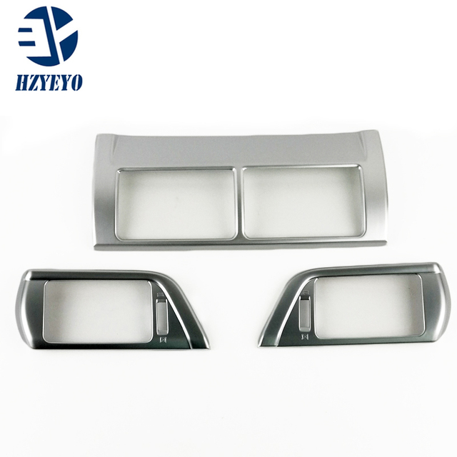 HZYEYO  Auto interior air conditioning vent trims for Toyota for Camry 2015,ABS chrome,auto accessories ,D8203