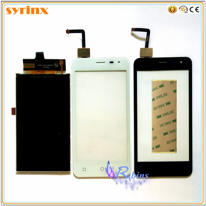 SYRINX Panel Touchscreen For Micromax Canvas Pace Q415 Touch Screen LCD Display Front Glass Digitizer Sensor Touchscreen 3m Tape