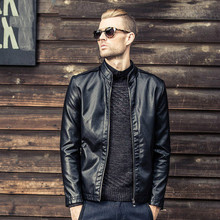2017 High Quality Motorcycle Leather Jackets Men Autumn Winter Leather Clothing Male casual Coats Brand clothing Free Shipping