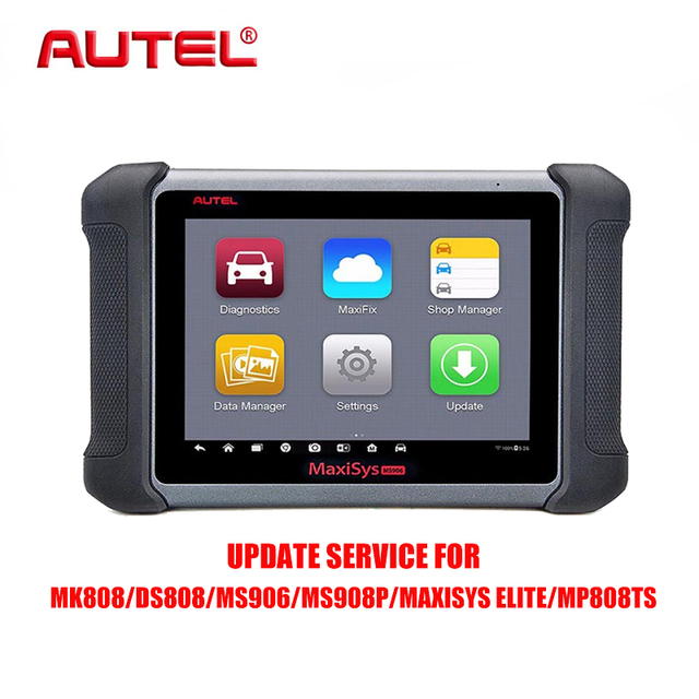 US $138 33 |Autel Update Service Renewal Updating Upgrade Service for MK808  DS808 MP808TS MS906 MS908P MaxiSys Elite One Year Update-in Code Readers &