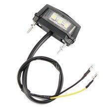 TiOODRE светодиодный мини-фонарь для мотоцикла, задний светильник для мотоцикла, светильник для номерного знака, Автомобильный задний светильник для Honda/Kawasaki/Yamaha/Suzuki