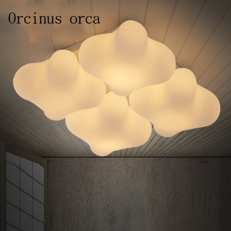 The Nordic minimalist led ceiling lamps of childrens room warm room light romantic master bedroom clover living room lightsThe Nordic minimalist led ceiling lamps of childrens room warm room light romantic master bedroom clover living room lights