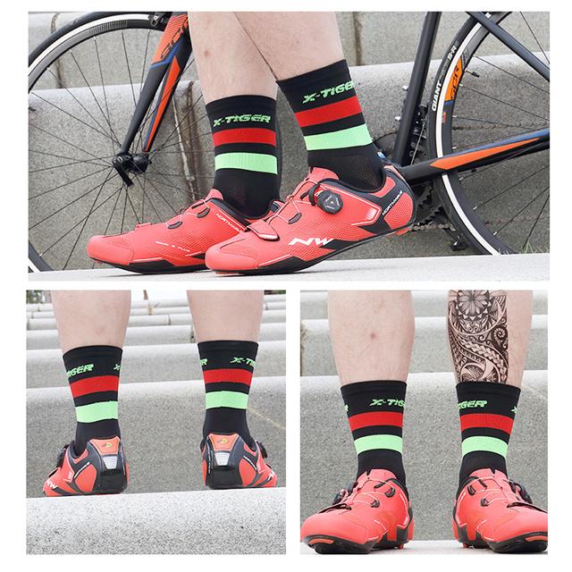 Cycling Socks Men Women 4 Pairs/lot Professional Cycling  Road Bicycle Socks