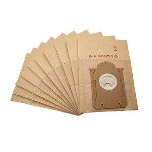 10 шт./лот пылесборники для philips FC8200 серии FC8202 FC8204 FC8206 FC8613 FC8220 бумажный мешок