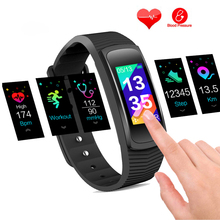 Swimming GPS sport tracking heart rate sportwatch blood pressure monitor Color Screen USB charging f