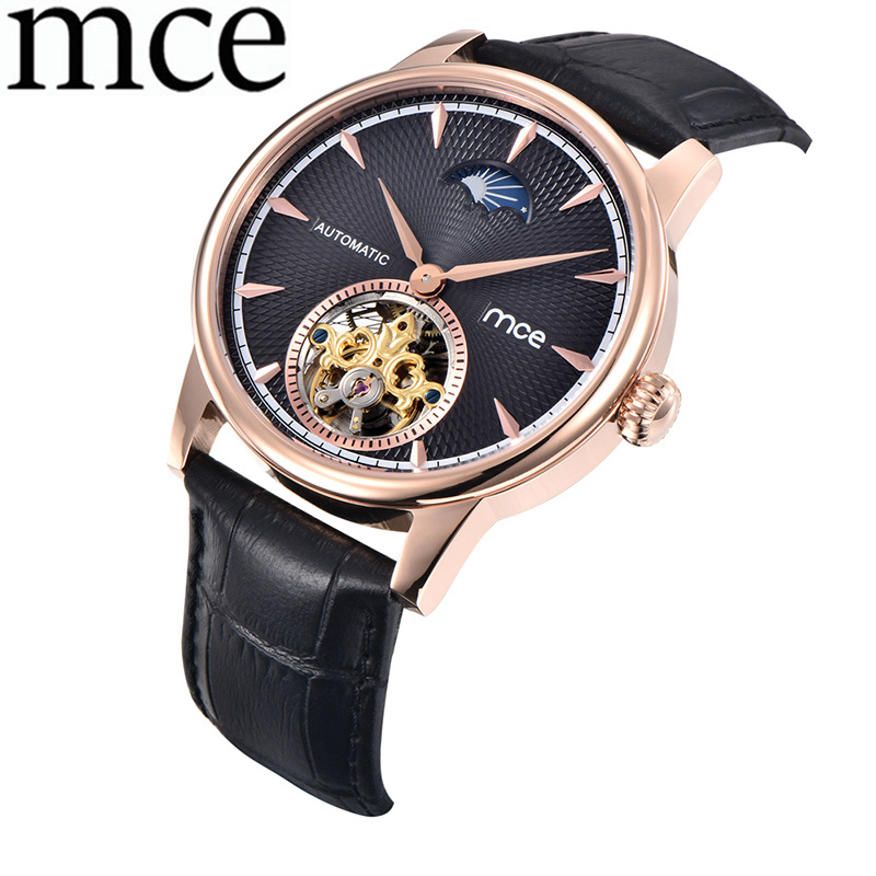 Mens Watch Men Skeleton Automatic Mechanical Business Watches Man Casual Wristwatch Relogio Masculino MCE Stainless Band ClockMens Watch Men Skeleton Automatic Mechanical Business Watches Man Casual Wristwatch Relogio Masculino MCE Stainless Band Clock