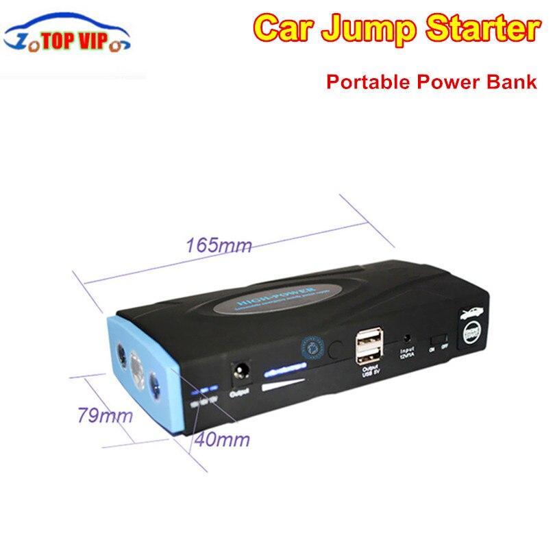 High quality font b Car b font Starter Power B ank mergency Charge Supply For Petrol