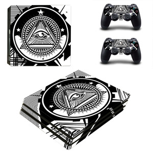 Image 1 - Eye of Providence PS4 Pro Skin Sticker Decal for PlayStation 4 Console and 2 Controllers PS4 Pro Skin Sticker Vinyl