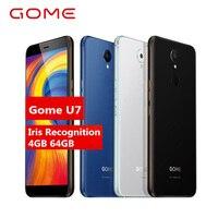 Оригинальный Gome U7 Android 7,1 MTK6757CD Octa Core 4 г LTE сотовые телефоны 13MP ГБ + 64 3050 мАч 5,99 OTG NFC отпечатков пальцев Смартфон