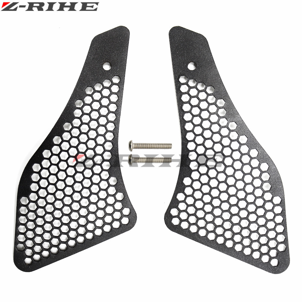 For BMW R1200GS Air Intake Grill Guard Cover Protector Motorcycle Accessories For BMW R1200GS 2013-2016 2014 2015 2016 Black акрапович для бмв r1200gs 2013