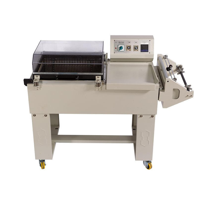 Automatic packaging machine sealing and shrinking one step packer for plastic bags SL5540 plastic film sealer shrinking machine|machine machine|machines packaging|machine automatic - title=