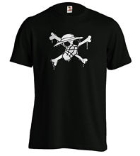 Onepiece Flag Luffy T Shirt - Strawhats Pirate Mark Unisex and Woman Fitted New Shirts Funny Tops Tee