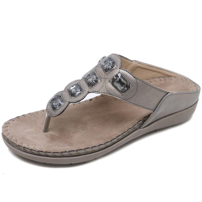 Pantoufles Timetang Flops Plates or Flip Dames Femmes bleu Gladiateur Wsh2430 Mode Chaussures Plage Sandales Confort De Sandalias Beige D'été rfI8fz7